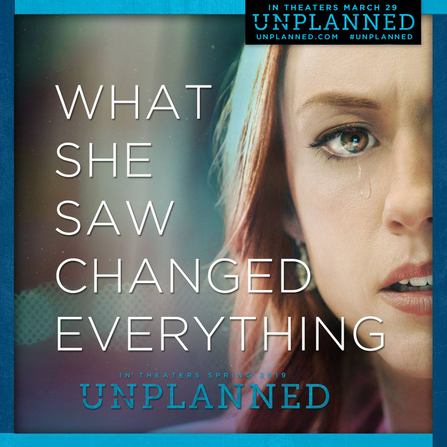 "Reachout to sponsor Red Carpet viewing of ""Unplanned"""