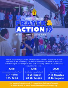 Prayer And Action 2019
